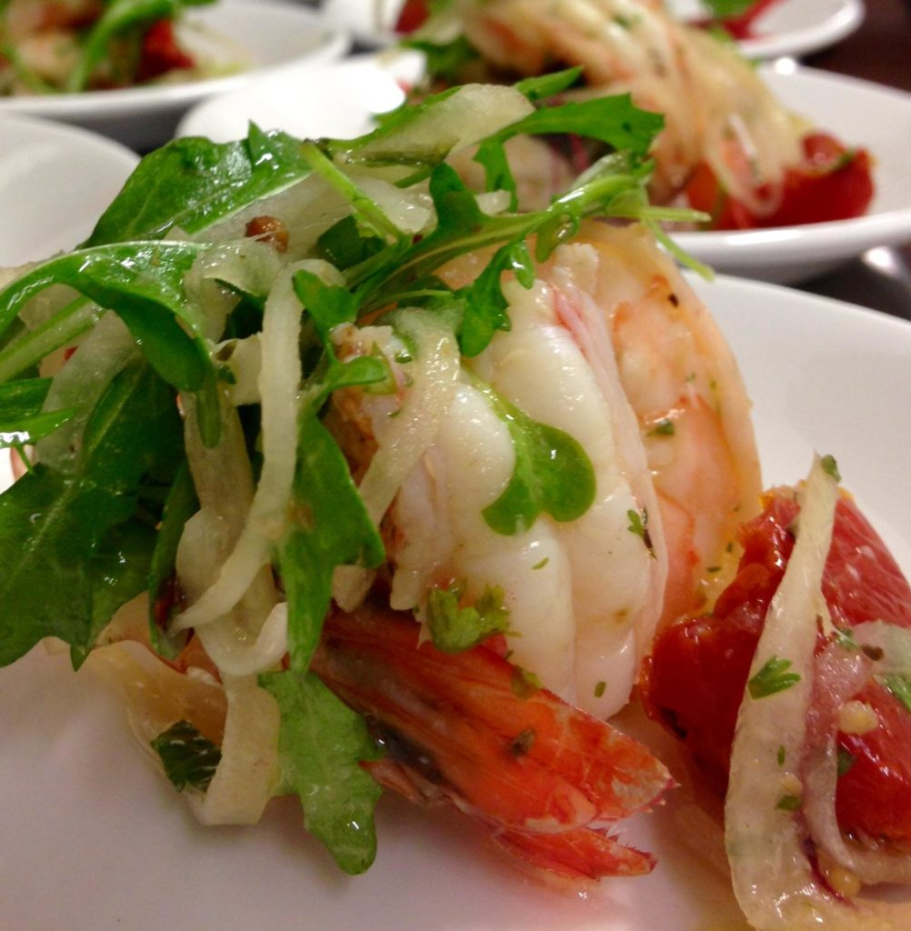 Pickled Gulf Shrimp by Wild American Shrimp Chef Advocate, Brody Olive
