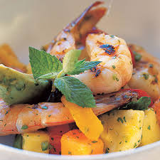 spicy tropical shrimp