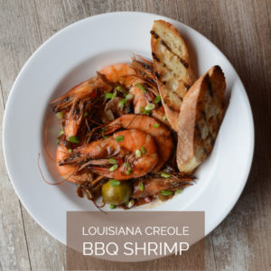 Wild American Shrimp Recipes - Louisiana Creole BBQ Shrimp